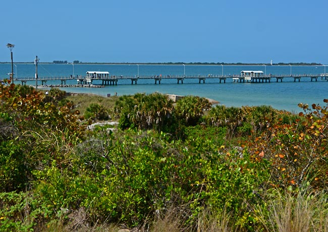 Egmont Key from Fort De Soto - Pinellas Country, Florida