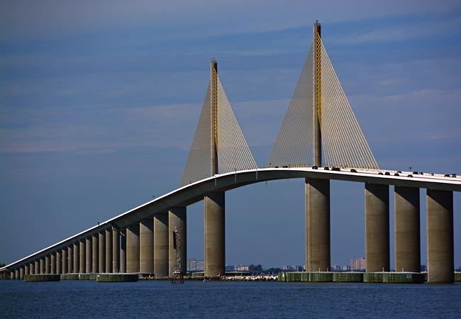Sunshine Skyway Bridge - St. Petersburg, Florida