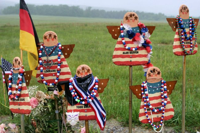 Angels in the Field-Flight 93 National Memorial, Pennsylvania