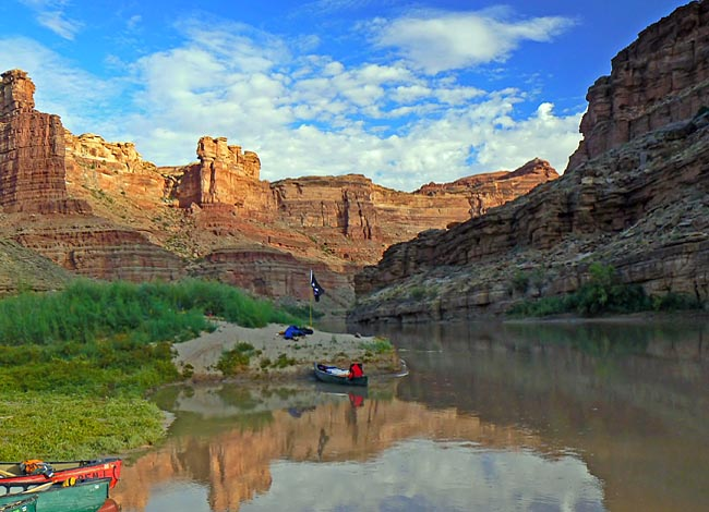 Stillwater Section Of The Green River Utah
