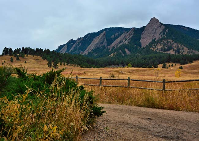 Flatirons Sunrise - Colorado