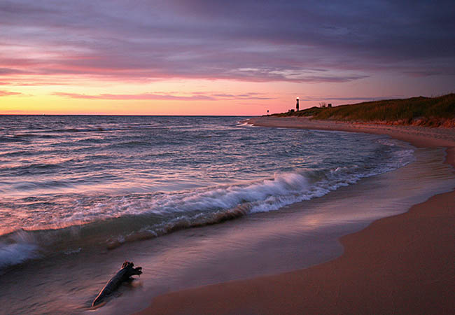 Big Sable Point and Lighthouse - Ludington State Park, Michigan