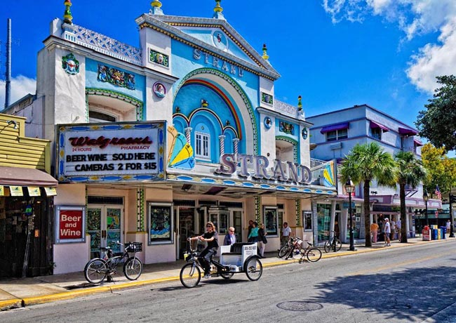 Restaurants On Duval Street In Key West Florida