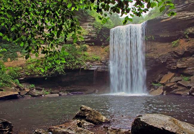 Lower Greeter Falls - Savage Gulf State Natural Area, Tennessee