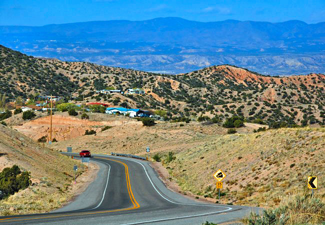 High Road to Taos -  Sante Fe to Taos, New Mexico