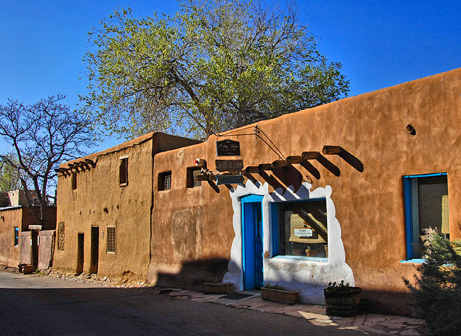 Oldest House in the United States - Barrio de Analco Historic District, Santa Fe, New Mexico