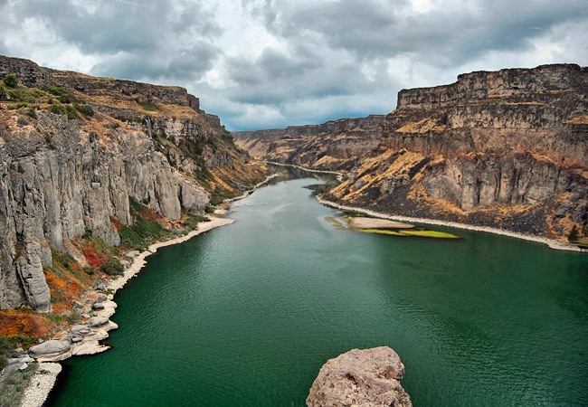 Snake River Canyon - Twin Falls, Idaho