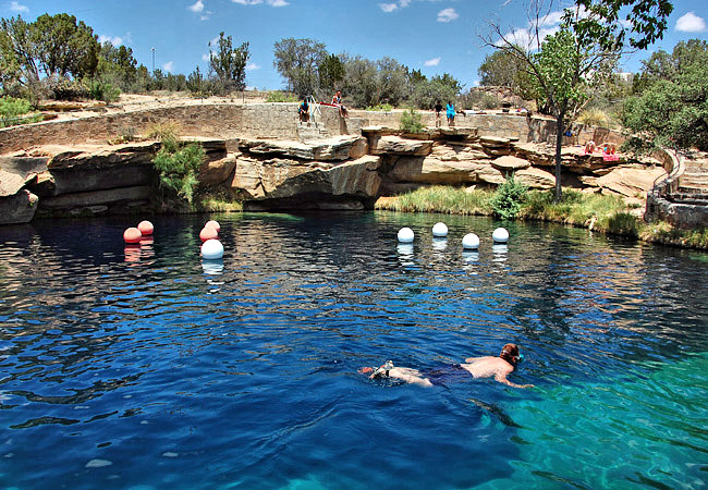 Blue Hole of Santa Rosa - Santa Rosa, New Mexico