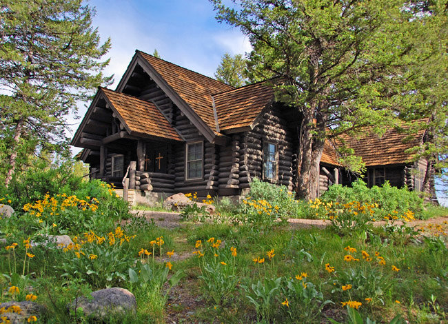 Chapel of the Sacred Heart - Grand Teton National Park, Wyoming