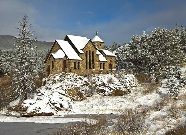 Chapel on a Rock - Saint Malo Church, Colorado