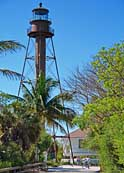 Sanibel Island Lighthouse - Lighthouse Beach Park, Sanibel, Florida
