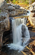 ScrewAugerFalls - Grafton Notch Scenic Byway, Maine
