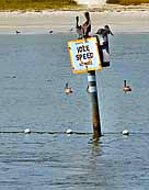 Cove Area No Wake Zone - Sebastion Inlet State Park, Melbourne Beach, Florida