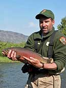 Cutthroat Trout Display - Yellowstone National Park