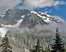 Mount Shuksan and Curtis Glacier - Mount Baker Wilderness, Washington