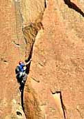 Rock Climber - Smith Rock State Park, Oregon