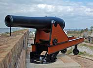 Smoothbore Cannon - Fort Pickens, Gulf Islands National Seashore, Florida