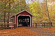 Covered Bridge - Southford Falls State Park, CT