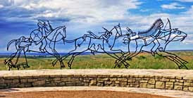 Spirit Warriors - Little Bighorn Battlefield National Monument, Montana