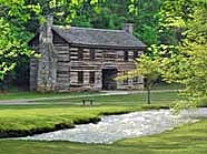 Pioneer Village Home - Spring Mill State Park, Mitchell, IN