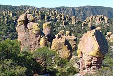 Standing Rocks - Chiricahua National Monument, AZ