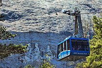 Stone Mountain Park Cable Car