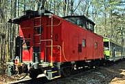 Stone Mountain Railroad Caboose
