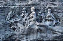 Bas Relief Sculpture - Stone Mountain, Georgia