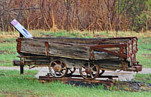 Sugarite Mining Cart - Sugarite Canyon State Park