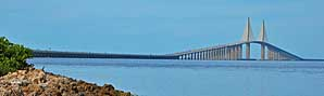 Sunshine Skyway Bridge - Bradenton, Florida
