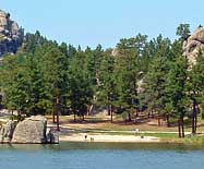 Sylvan Lake Beach - Custer, South Dakota
