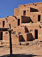 Pueblo Dwelling - Taos, New Mexico