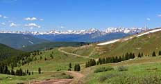 Road to Camp Hale - Top of the Rockies Scenic Byway, Colorado