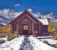 Transfiguration Chapel Entry - Moose, Wyoming