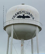 Transylvania water tower