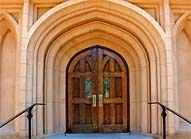 Trinity Episcopal Cathedral Entrance - Columbia, South Carolina