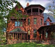 Twain House side view - Hartford, Connecticut
