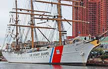 USCG Barque Eagle - Maritime Museum, Baltimore, MD