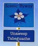 Byway Sign - Unaweep-Tabeguache Scenic and Historic Byway