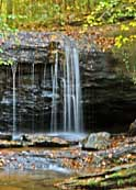Upper Section of Lower Wildcat Branch Falls - Cleveland, South Carolina