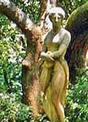 Statue of Virginia Dare - Elizabethan Gardens, Manteo, North Carolina