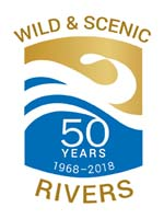 Wild and Scenic Rivers Act Logo - 50th Anniversary