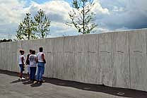 Wall of Names - Flight 93 National Memorial, Pennsylvania