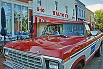 Sam Walton's original 1979 Ford F-150 pickup truck