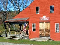 Porch and Entrance - Old Mill Museum, Weston, Vermont