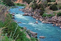 Wind River Rapids - Wind River Canyon - WY