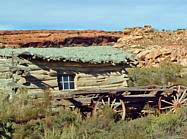 Wolfe Ranch Cabin - Arches National Park