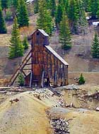 Yankee Girl Mine - Red Mountain Mining District, Colorado