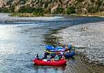 Yellowstone River rafters - Paradise Valley, MT